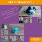 Activiteitenkaartje Creatief met wol