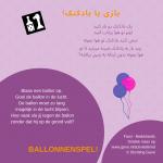 Activiteitenkaartje Ballonnenspel NE - Farsi