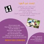 Activiteitenkaartje Beestjes zoeken Ne-Arabisch