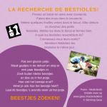 Activiteitenkaartje Beestjes zoeken Ne-Frans