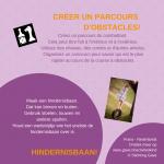 Activiteitenkaartje Hindernisbaan Ne- Frans