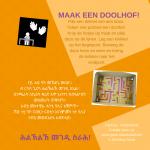 Activiteitenkaartje Maak een doolhof Nederlands - Tigrinya