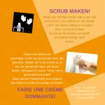 Activiteitenkaartjes Scrub maken Nederlands - Frans