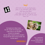 Activiteitenkaartje Spiegel! Nederlands- Farsi