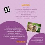 Activiteitenkaartje Spiegel! Nederlands- Frans