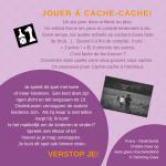 Activiteitenkaartje Verstop je! Ne-Frans