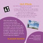 Activiteitenkaartje Vlieger maken! Nederlands - Tigrinya