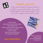 Activiteitenkaartje Wat is er weg NE- Arabisch