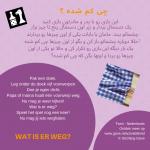 Activiteitenkaartje Wat is er weg NE- Farsi