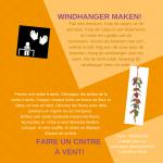 Activiteitenkaartje Windhanger maken Nederlands - Frans