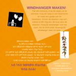 Activiteitenkaartje Windhanger maken Nederlands - Tigrinya