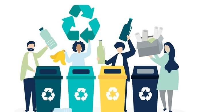 Recyclen en de opbrengst doneren voor vluchtelingen in Nederland